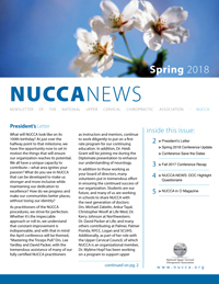 NUCCA_Spring18_cover